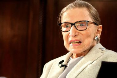 She's back: Ruth Bader Ginsburg returns to the Supreme Court after lung cancer surgery