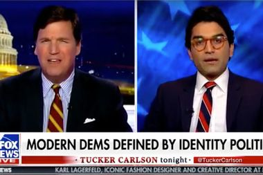 """Fox News host Tucker Carlson: """"It's untrue that the darker you are, the more oppressed you are"""""""