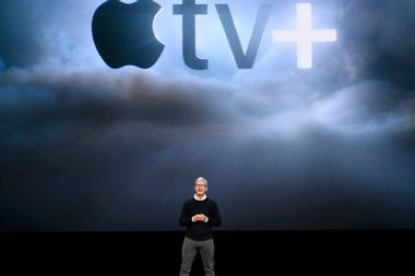 The Apple event unleashes Apple TV+: A star-studded show about… nothing
