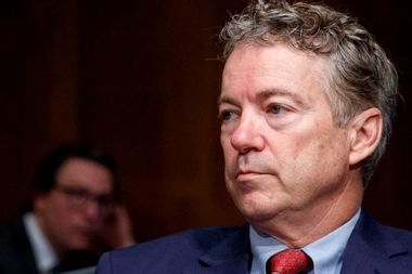 Rand Paul says he would support Liz Cheney's Republican opponent should she decide to run for Senate