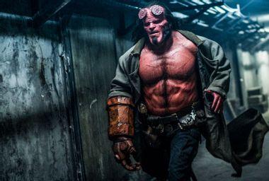 """David Harbour as Hellboy in """"Hellboy"""""""