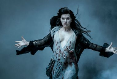"""Milla Jovovich as Nimue the Blood Queen in """"Hellboy"""""""