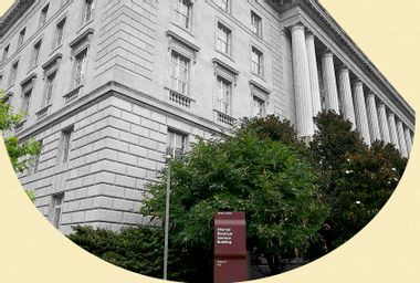 The Internal Revenue building