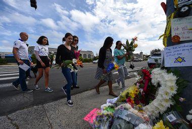 Poway synagogue shooting memorial
