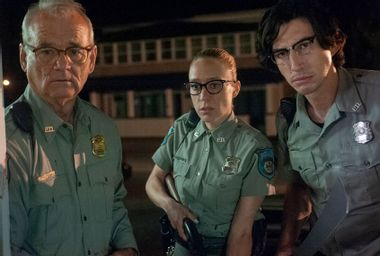 """Bill Murray, Chloë Sevigny, and Adam Driver in """"The Dead Don't Die"""""""