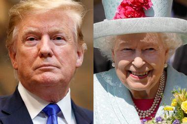 British newspaper calls for the cancellation of President Trump's meeting with Queen Elizabeth II