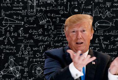 Donald Trump; Science Equations
