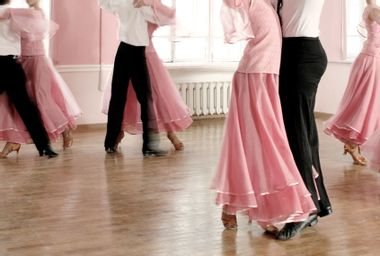 Young Teens in a Dance Class