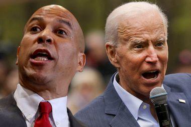 Cory Booker says he feels disrespected by Joe Biden