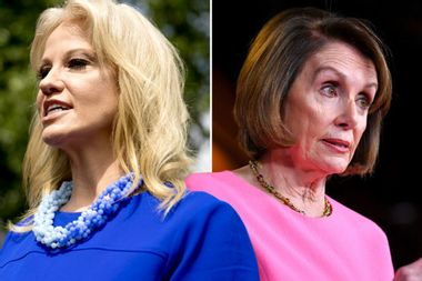 """Kellyanne Conway accuses Nancy Pelosi of classism: """"She treats everybody like they're her staff"""""""
