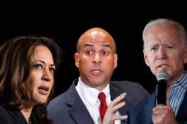 Biden won't apologize after Booker and Harris rebuke his remarks about working with segregationists