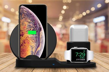 Save over 75% on the ultimate wireless charging dock