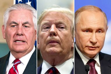Donald Trump's former secretary of state claims Vladimir Putin outmaneuvered the president