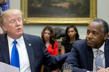 Trump and Ben Carson: King and court jester of the kakistocracy
