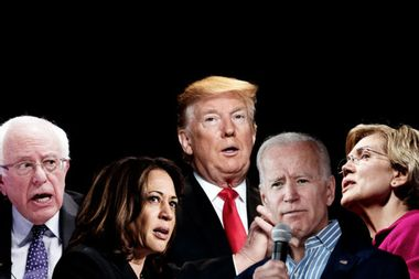 Can Democrats win in 2020 by attacking Trump? A new study says no