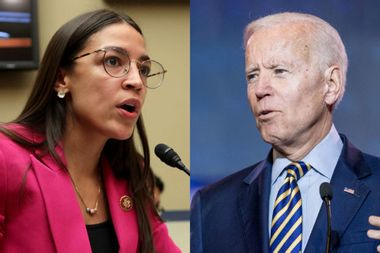 "Alexandria Ocasio-Cortez on Joe Biden: ""He's not a pragmatic choice"""