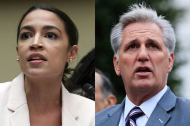 """House GOP leader claims Ocasio-Cortez """"does not understand history"""" after concentration camp remarks"""