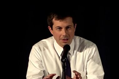 "Pete Buttigieg: Voting for Trump in 2020 means ""looking the other way on racism"""