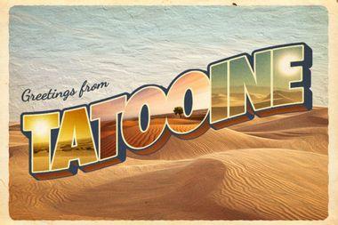 Greetings from Tatooine, Arizona