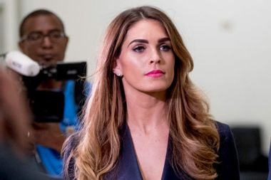 House Democrats grill Hope Hicks behind closed doors after White House asserts immunity