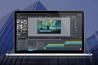 Create professional videos with this drag & drop editor
