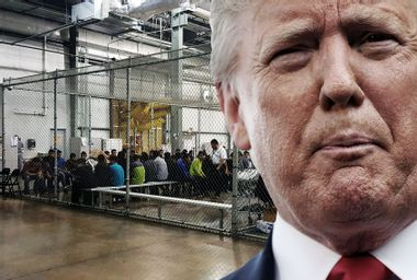 Donald Trump; Immigration; Cages