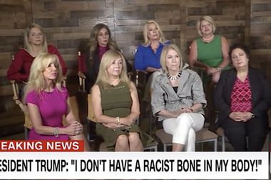 "CNN didn't tell us its supposed panel of ""Republican women"" were, literally, the ""Trumpettes"""