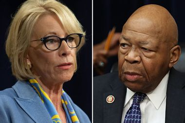Elijah Cummings expands probe into Betsy DeVos' alleged use of personal email account