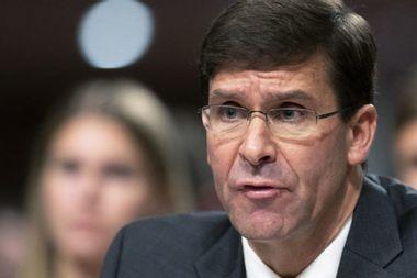 Senate votes to confirm Mark Esper as defense secretary