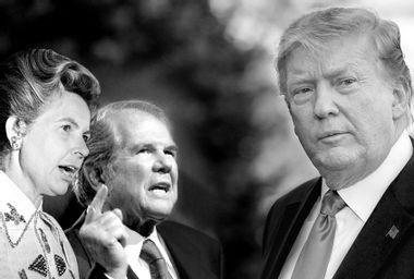 Phyllis Schlafly; Pat Robertson; Donald Trump