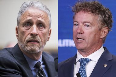 "Jon Stewart blasts Rand Paul for blocking 9/11 first responders bill: ""It's absolutely outrageous"""