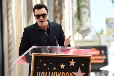 Seth MacFarlane is a major Democratic donor. What does his comedy say about his politics?