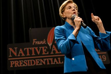 """Elizabeth Warren offers public apology to Native Americans: """"I am sorry for any harm I have caused"""""""