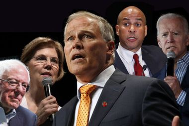 Eight Democrats will be onstage at a climate change debate — just not the one who focuses on climate