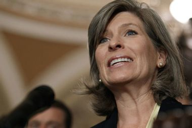 """Iowans confront Joni Ernst over GOP inaction on guns: """"We are short congresspeople that take action"""""""