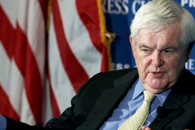 """Newt Gingrich bashes NYT Magazine's slavery series: It's """"embarrassing"""" and """"factually false"""""""