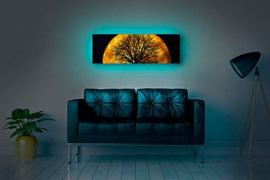Save 50% on these backlit canvas prints