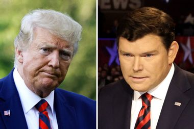 """Bret Baier pushes back at Trump's criticisms of Fox News: """"We have a news side and an opinion side"""""""