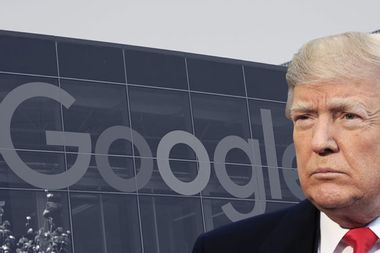 Trump falsely claims that Google manipulated millions of votes for Clinton in the 2016 election