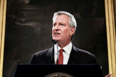 New York City Mayor Bill de Blasio drops out of the 2020 Democratic presidential race