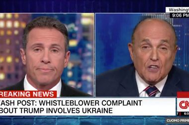 "Rudy Giuliani admits he asked Ukraine to investigate Joe Biden: ""Of course, I did"""