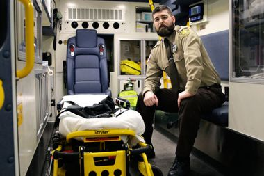 Chronically underpaid EMTs are being assaulted at record rates
