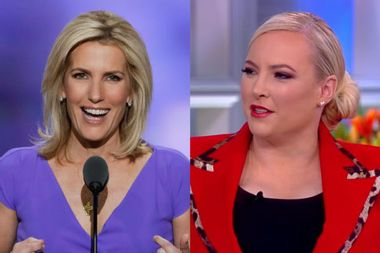 "Meghan McCain roasts Fox's Laura Ingraham for fat-shaming her: ""I'm on The View — and you're not"""