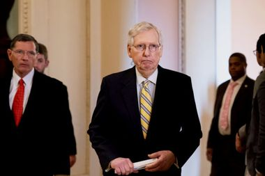 """McConnell co-sponsors election security amendment after weeks of being called """"Moscow Mitch"""""""