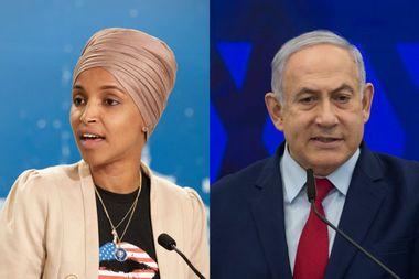 Rep. Ilhan Omar hopes Benjamin Netanyahu won't be re-elected as prime minister of Israeli