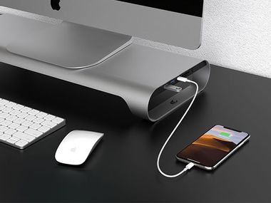 Image for Bring your monitor to new heights with this stand