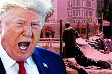 Trump wants to punish California over homelessness — after denying funds to fight homelessness