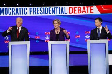 Heavyweight draw: Biden, Warren both walk away winners from fourth Democratic debate