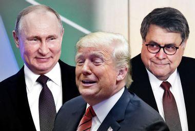 Donald Trump; Bill Bar; Vladimir Putin