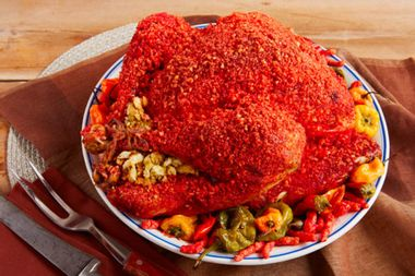 The 6 most bonkers turkey preparations, from Cheetos crusts to glitter gobblers